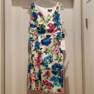 Adrianna Papell Dress, Floral Print